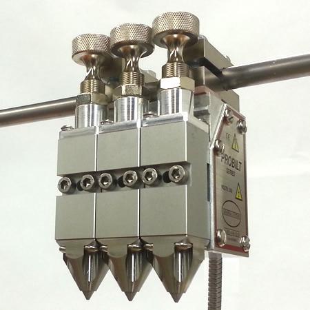 H203T Applicator Gun Head .88 Inch Centers – Zero Cavity Module .012 Micro Adjust (AO/SC)