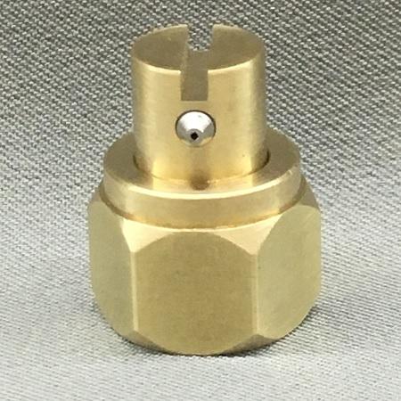 1 Orifice Nozzle, Right Angle, .008 Diameter